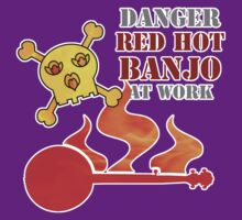 Red Hot Banjo by evisionarts