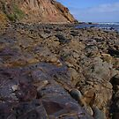 coastal rock at Sellicks by shallay