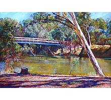 The Historic Goulburn Bridge - Seymour Photographic Print