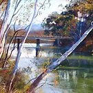 &#x27;A Glimpse of Goulburn Bridge&#x27; by Lynda Robinson