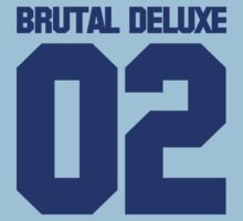 Speedball 2 - Brutal Deluxe Jersey (Blue Text) by TGIGreeny