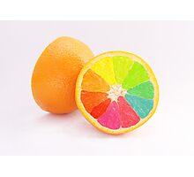 Tutti Frutti Orange Photographic Print