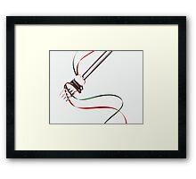Fork Me! Framed Print