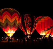 Dawn Patrol Reno Balloon Races  by Justin Baer