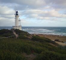 Point Lonsdale Lighthouse - Victoria by Bree Lucas