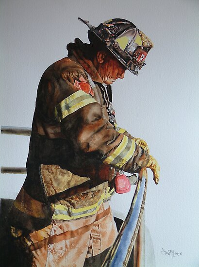 Fireman by David McEwen