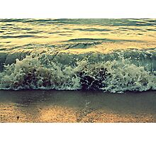 Beach Baby Photographic Print