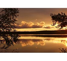 Evening Shades Photographic Print