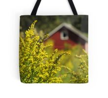Little Red Shed on the Prairie Tote Bag