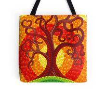 Autumn Illuminated Tree Tote Bag