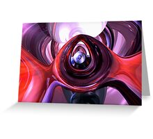 Inner Peace Abstract Greeting Card