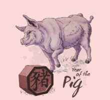 Year of the Pig Kids Clothes