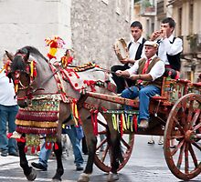 Sicilian Marriage Procession by phil decocco