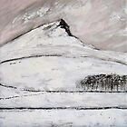 Roseberry Topping in Snow by Sue Nichol