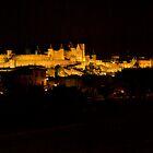 Carcassonne Castle by John Thurgood