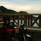 Morning Ride- seaside motorist in China by homemadeinchina
