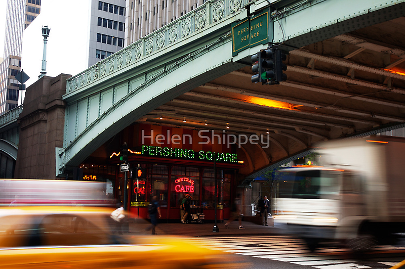 Pershing Square Breakfast Diner by Helen Shippey