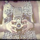 Vintage Medium Format Camera by Sharonroseart