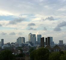 London skyline by Tommy Wright