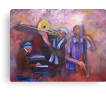 Jazz Men Canvas Print