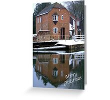 Reflections - Christmas Card Greeting Card