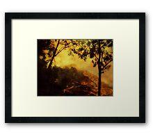 Painted Mountain-Venezuela ©  Framed Print