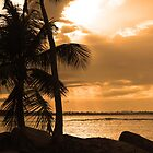 Sunset in Puerto Rico by William Guilmette