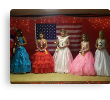 Pike Co Beauty Pageant 10-12yro winners Canvas Print
