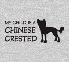 My Child is a Chinese Crested (light/sticker) by xTRIGx