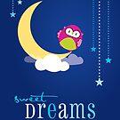 OWL SERIES :: sweet dreams 1 by Kat Massard