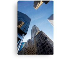 New York City Skyline Empire State Building Canvas Print