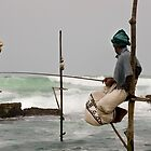Daily catch! - Sri Lankan Fisherman by crowdedstudios