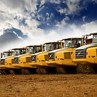 Tipper Trucks by Steve Woods