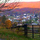Blue Ridge Mountains  by Larry Llewellyn