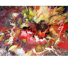 Colourful Acrylic Fluid Painting - Mark Chadwick Photographic Print