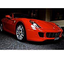 """""""Ferrari"""" Photographic Print"""