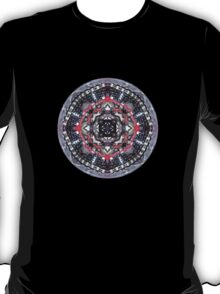 bike kaleidoscope in the round  T-Shirt