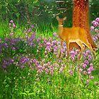 A Bouquet For A Deer by Linda Miller Gesualdo
