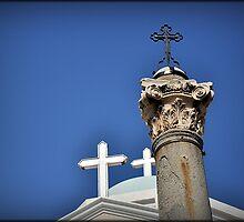 Greece - KOS - Crosses on the main square by Daniela Cifarelli