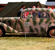 WWII Mercedes Staff Car by Rees Adams