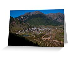 Silverton, Colorado Greeting Card