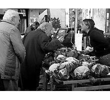 Getting the Right Price ~ Civitavecchia, Italy  Photographic Print