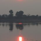 Sunrise at Angkor Wat by Pauline Andrews