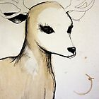 Deer friend, by RubyandWolf