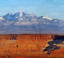 Canyonlands - Great Overlook Panorama by Ryan Houston