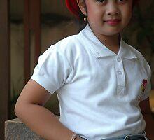 little asian girl by bayu harsa