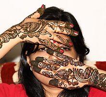 The beauty of Henna # 1 by debjyotinayak