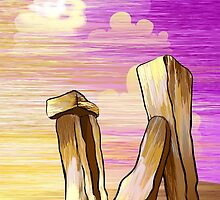 beauty of the pillar stones by tillydesign