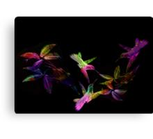 Series Birds & Collage. Canvas Print