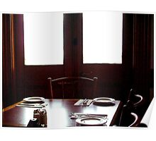 Waiting for Lunch Poster
